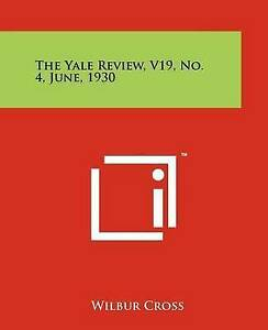 The-Yale-Review-V19-No-4-June-1930-Paperback