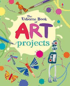 Mini Art Projects (Usborne Activity Books), Fiona Watt, Very Good Book