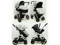 MOTHERCARE SPIN FULL TRAVEL SYSTEM & ACCESSORIES