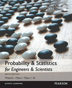 Probability & Statistics for Engineers & Scientists by Ronald E. Walpole, Raymon
