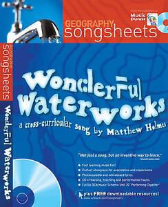 Wonderful Waterworks (Songsheets), New, Holmes, Matthew Book