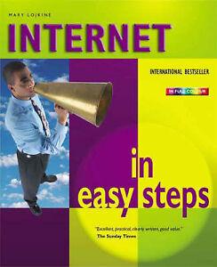 """VERY GOOD"" Lojkine, Mary, Internet in Easy Steps, Book"