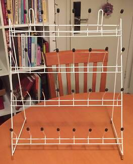 TWO VERTICAL DRAINING RACKS FOR SALE (NEW)