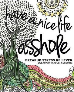 Image Is Loading NEW Have A Nice Life Asshole Breakup Stress