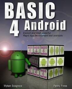 Basic4Android: Rapid App Development for Android, Very Good Condition Book, Seag
