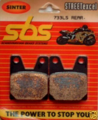 Rear Brake Pads For Yamaha R1 R7   Free Screensaver Cd