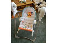 Fisher price rainforest swing and rocker 3 in 1 baby swing