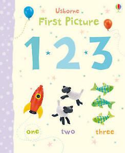 New, First Picture 123 (Usborne First Picture Books), Jo Litchfield, Book