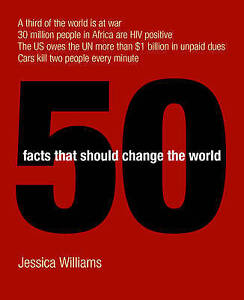 Good, 50 Facts That Should Change the World, Williams, Jessica, Book
