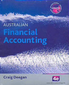 australian financial accounting by craig deegan paperback