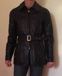 Mars Motorcycle Leather Jacket 3 4 Length