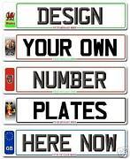 Car Show Plates