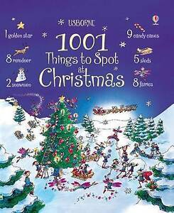 """VERY GOOD"" 1001 Things to Spot at Christmas, Alex Frith, Book"