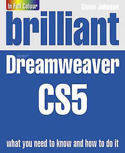 Johnson-Mr-Steve-Brilliant-Dreamweaver-CS5-Very-Good-Book