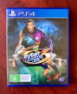Ps4. Rugby League Live 3. Great Condition $29 or Swap/Trade