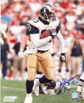 Jamie Watson St  Louis Rams Signed 8X10 Photo W Coa