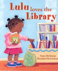 Lulu Loves the Library, McQuinn, Anna, New Book