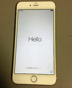 I phone 6 plus gold with bell
