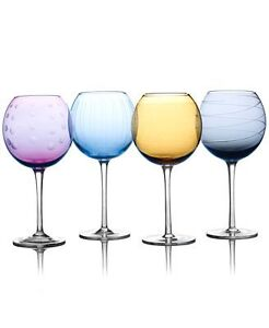 Mikasa Cheers Wine Glasses - Brand New in box