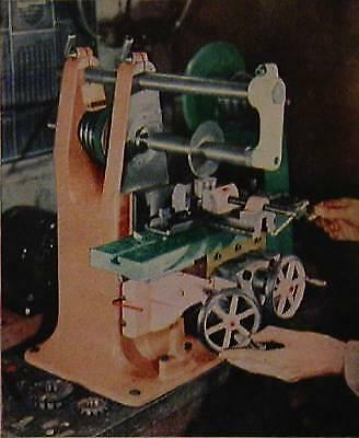 Lewis Bench Top Milling Machine 1948 Howto Build Plans And Info