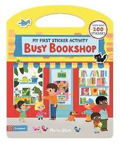 Busy Bookshop: My First Sticker Activity by Marion Billet (Paperback, 2016)