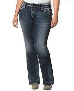 d383c822 Plus Size Silver Jeans | eBay
