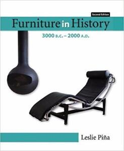 Furniture in History 3000 BC - 2000 AD 2nd Edition