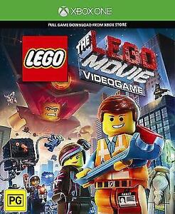 NEW LEGO MOVIE VIDEO GAME XBOX ONE XBOX LIVE DIGITAL CODE