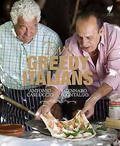 Two Greedy Italians, Antonio Carluccio & Gennaro Contaldo, New Book
