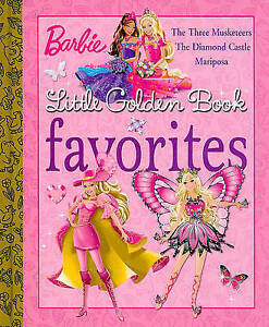 NEW Barbie Little Golden Book Favorites (Barbie) by Mary Man-Kong