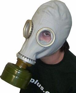 AUTHENTIC RUSSIAN GAS MASKS - A VERY CREEPY IDEA FOR HALLOWEEN OR ANY TIME YOU WANT EXTRA ATTENTION!!