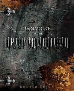 Grimoire of the Necronomicon by Donald Tyson (Paperback, 2008)