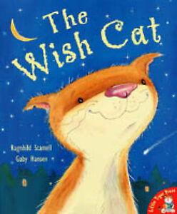 THE WISH CAT by Ragnhild Scamell, Children's Reading Picture Story Book LTP New