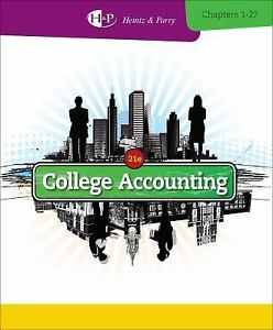 College-Accounting-Chapters-1-27-Parry-Robert-W-Heintz-James-A-Good-Book