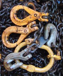 13mm lifting chain  2 leg 8m drop shorteners tagged Mitchell Gungahlin Area Preview