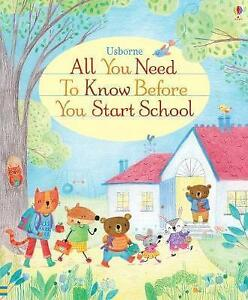 All You Need to Know Before You Start School by Felicity Brooks | Board book Boo