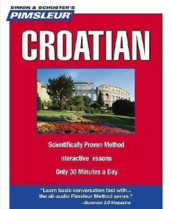 Pimsleur Croatian: Learn to Speak and Understand Croatian with Pimsleur Language