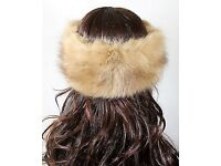 Posh Faux Fur Winter Headband, brand new Made from the highest quality faux fox fur.