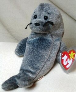 190f67c8f48 Slippery the seal beanie baby