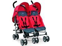 Double stroller buggy