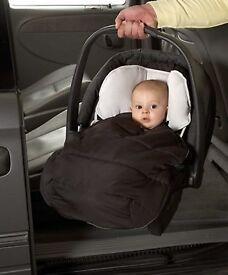 Car Seat Footmuff - Black