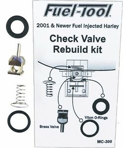 NEW Fuel Tool - MC300 - EFI Check Valve Rebuild Kit FREE SHIP  HARLEY