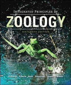 Integrated Principles of Zoology by Larry S. Roberts, Allan L. Larson, David J.