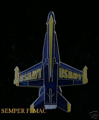 BLUE ANGELS F-18 HORNET BOTTOM  VIEW PIN US NAVY MARINES AIRSHOW PILOT AIRCREW