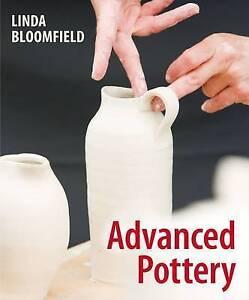 LINDA BLOOMFIEL-ADVANCED POTTERY  BOOK NEW