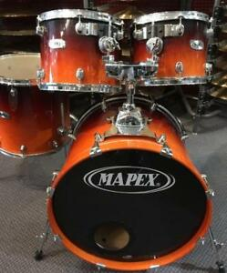 "Batterie / Drums Sell Kit Mapex Pro M Tom: 12-13"" Floor Tom: 16"" Bass Drum: 22"" usagée/used"