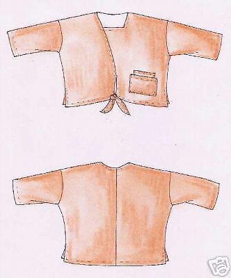 Designer Schnittmuster Lagenlook Shirt Macau Gr. XL image