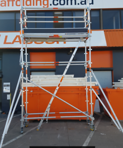 Aluminium Scaffold *Quickstage* STARTER KIT 0.7m x 2.5m x 3.4m Revesby Bankstown Area Preview