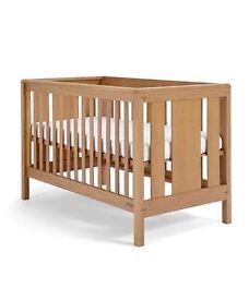 mamas and papas chamberlain cot bed