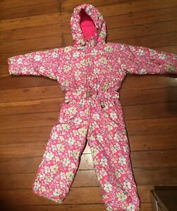 Quality Sunice girls snow suit size 6 ski snowboard kids grow suit Dee Why Manly Area Preview